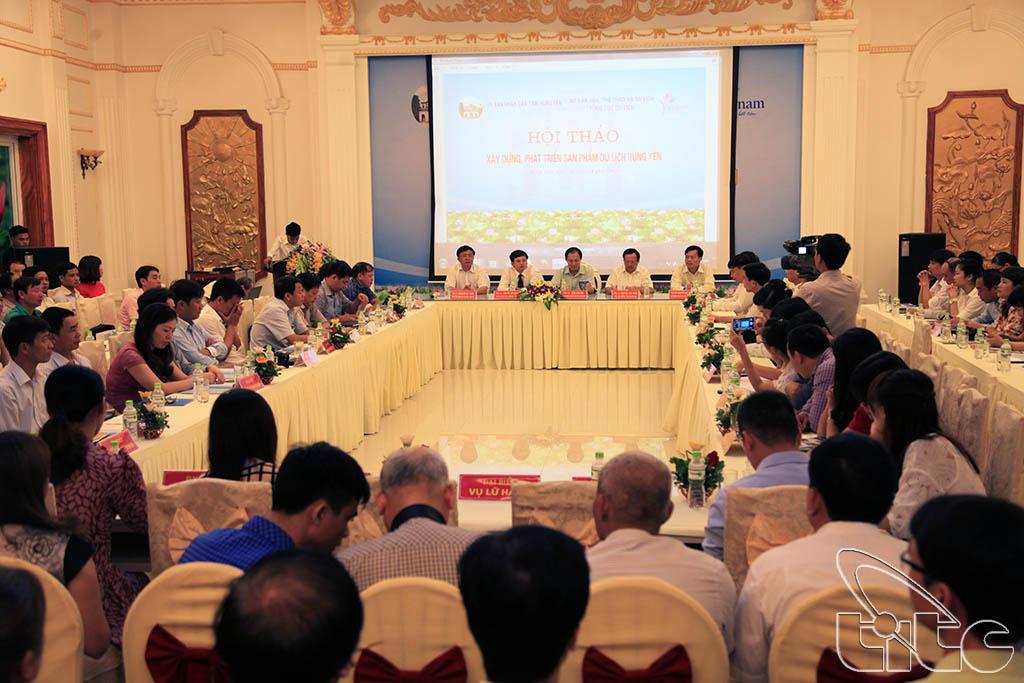 Toàn cảnh Hội thảo xây dựng, phát triển sản phẩm du lịch Hưng Yên