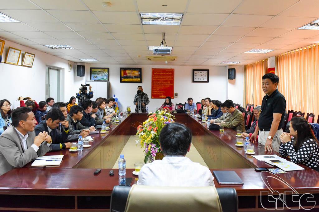 Đoàn khảo sát làm việc với Sở VHTTDL tỉnh Lào Cai
