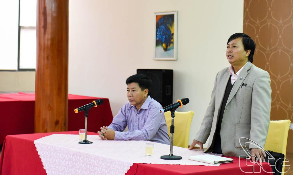 Ông Đoàn Văn Chì, Phó Giám đốc Sở VHTTDL Điện Biên phát biểu tại hội thảo