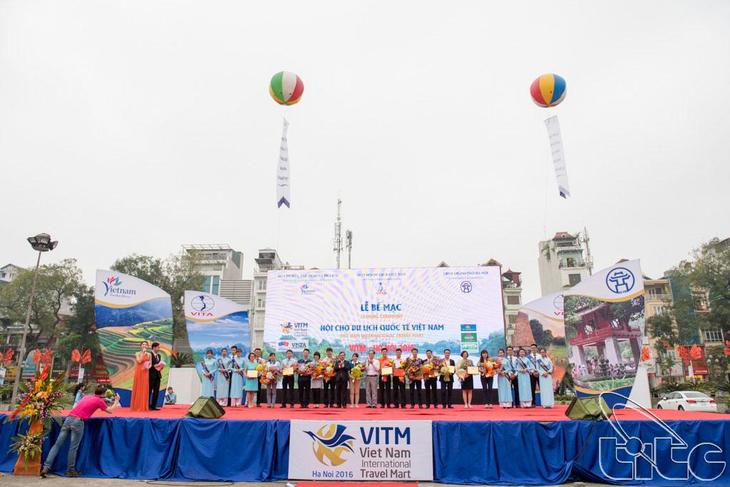 Các đơn vị tham gia chương trình kích cầu du lịch hiệu quả nhất tại Hội chợ Du lịch quốc tế - VITM Hà Nội 2016