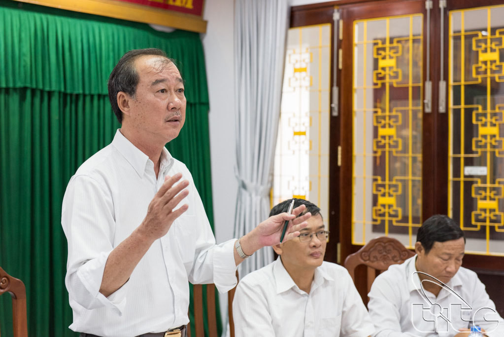 Lãnh đạo Sở Văn hóa, Thể thao và Du lịch An Giang tại buổi gặp gỡ