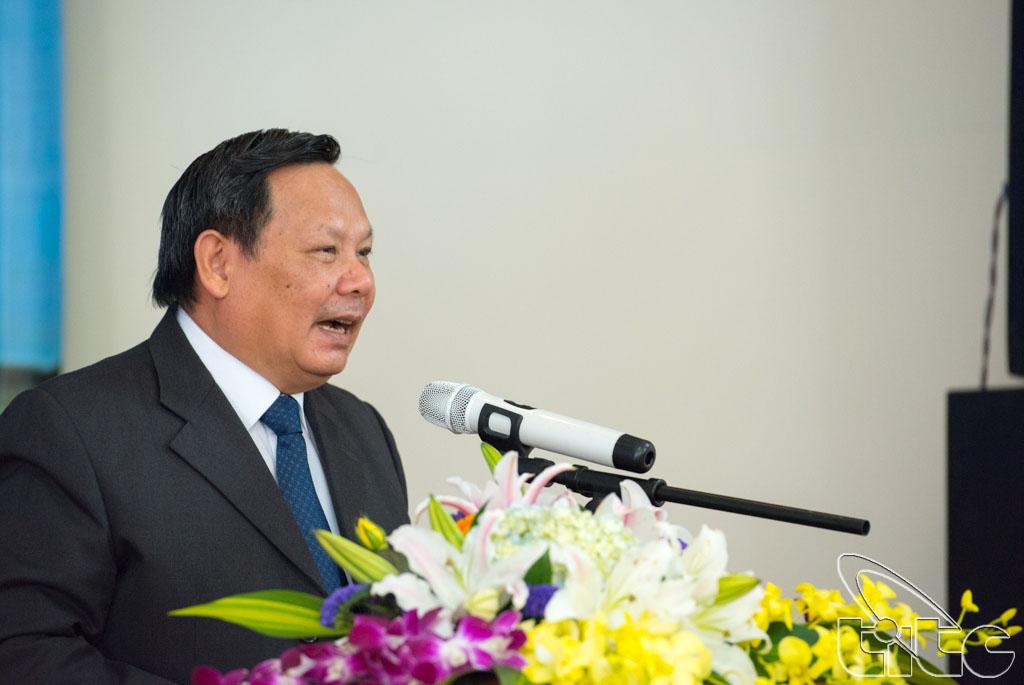 Tổng cục trưởng TCDL Nguyễn Văn Tuấn phát biểu tại hội thảo