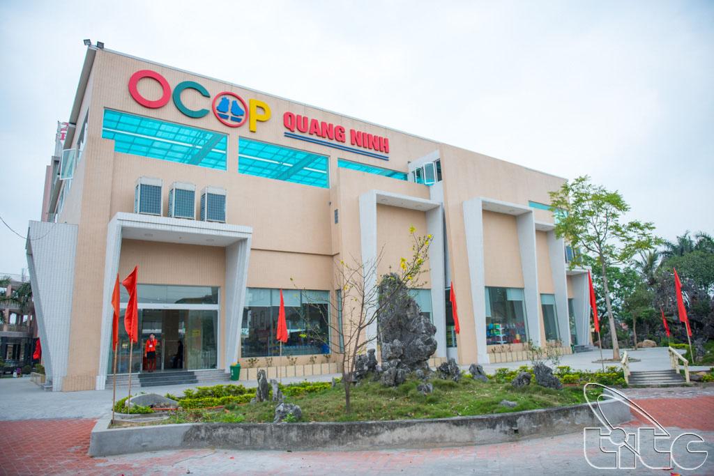 Toàn cảnh Trung tâm OCOP Quảng Ninh tại thị xã Đông Triều