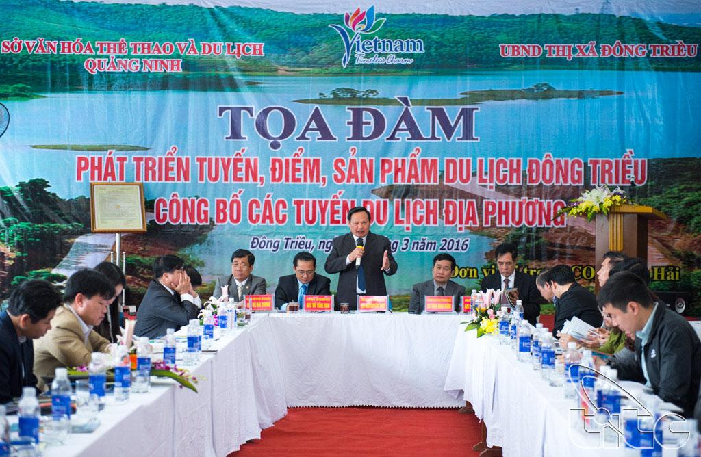 Các đại biểu tham gia tham luận tại hội thảo