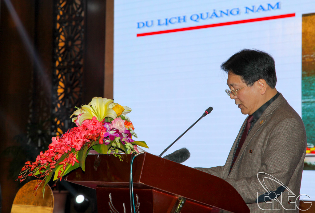 Thứ trưởng Bộ VHTTDL Vương Duy Biên phát biểu Khai mạc Hội thảo