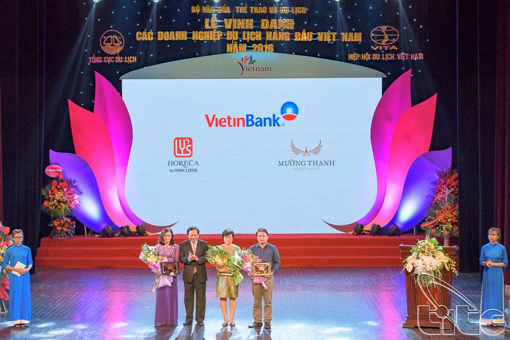 Tổng cục trưởng TCDL Nguyễn Văn Tuấn cảm ơn các nhà tài trợ
