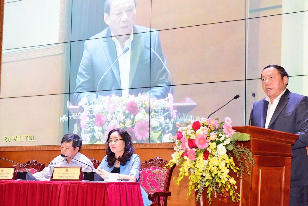 Bộ trưởng Nguyễn Văn Hùng: Ngành VHTTDL đặt ra tiêu chí quyết liệt hành động, khát vọng cống hiến